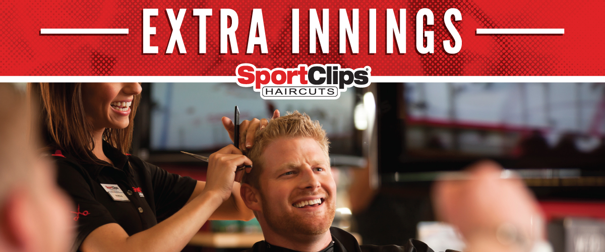 The Sport Clips Haircuts of Alvin Center  Extra Innings Offerings